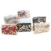 evening clutch bag luxury handbags women bags party shoulder messenger bags box