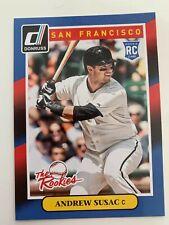 ANDREW SUSAC Lot x4 2014 Panini Donruss THE ROOKIES Baseball RC #95