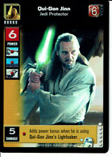 STAR WARS YOUNG JEDI REFLECTIONS SUPER RARE QUI-GON JINN, JEDI PROTECTOR