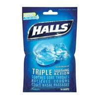 halls cough drops triple soothing action cough suppressant 30 drops ebay. Black Bedroom Furniture Sets. Home Design Ideas