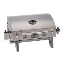 Barbeque Gas Grill Tailgate RV Camping Boating Portable Tabletop Stainless Steel