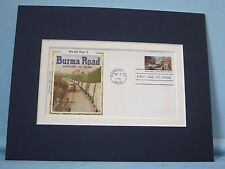 WWII - The Allies keep the Burma Road open to aid China & First Day Cover