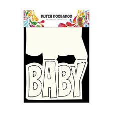 "Dutch Doobadoo Carte ART modèle-Texte ""BABY"" 470.713.647"