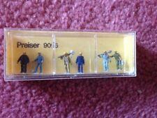 Preiser, Vintage, NiB,  Item # 9096  N scale Walking Track Workers