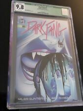 Dark Fang #1 Kelsey Shannon art & signed by Miles Gunter writer Cgc 9.8