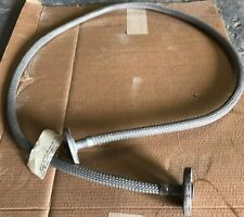 """STAINLESS STEEL BRAIDED HOSE 1"""" X 7FT 10"""" FLANGED"""