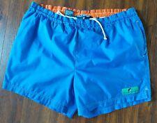 Polo Sport Ralph Lauren Swim Shorts Trunks Sz. XL Blue Marlin Logo VTG 90s