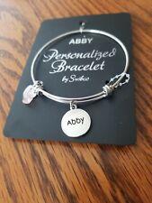 """Personalized bracelet """"Abby"""""""