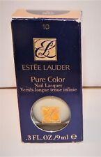 Estee Lauder Pure Color Nail Lacquer #10 White Petal RARE