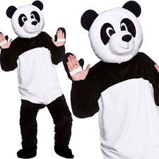 Adult Giant Panda Fancy Dress Mascot Costume Animal Zoo Wild Bear Unisex New