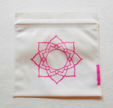 200 (Pink Lotus Flower) 2x2 Small Plastic Baggies 2020 Tiny Ziplock Poly Bags