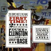 "DUKE ELLINGTON ""THE COUNT MEETS THE DUKE FIRST TIME! "" CD NEUWARE"