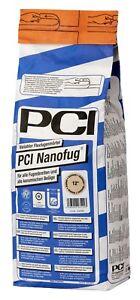 PCI Nanofug 4 kg 17 Farben Flexfugen-Mörtel Fugenmasse Flexfuge Bad Flur Küche