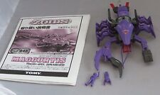 Zoids Tomy Maccurtis built, with manual, 2001 Ez-047 Crawfish Type