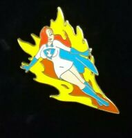 Disney Shopping JESSICA Rabbit Dressed as Super HERO Costume LE250 Pin RARE HTF