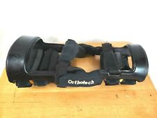 Orthotech Arthritis Ultimate Controller Carbon Fiber Knee Right Brace Black S-M