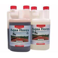 CANNA AQUA FLORES A+B - 2X1L - fioritura idroponica  hydroponic bloom fertilizer