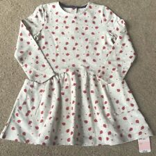 Mothercare Girls Cute Ladybird Daisy Flower Dress 3-4 Years New