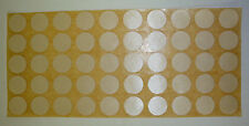 "672 each 1/2"" Round White Color Coded Inventory Dot Stickers  NEW FREE SHIP"