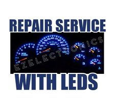 2003 TO 2006 INSTRUMENT CLUSTER REPAIR SERVICE, GMC, CHEVROLET WHIT LED UPGRADE