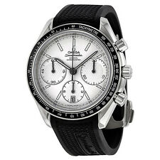 Omega Speedmaster Racing Automatic Chronograph Silver Mens OM32632405002001