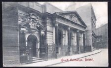 Stock Exchange, Bristol. 1904 Vintage Postcard. Free UK Postage