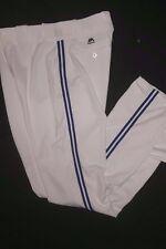 TORONTO BLUE JAYS WHITE FLEX BASE AUTHENTIC MAJESTIC BASEBALL PANTS 32-42 WAIST