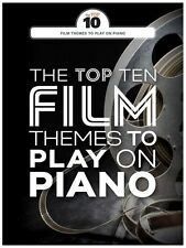 Top Ten Film Themes Songs CHOPIN Gladiator To Play On Piano Movie Music Book