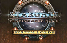 STARGATE TCG CCG SYSTEM LORDS MISSION CARD Construct Anti-Replicator Weapon #165