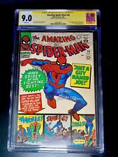 THE AMAZING SPIDERMAN #38 CGC 9.0 WHITE PAGES! 2nd cameo of Mary Jane LAST DITKO