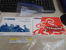 OEM Yamaha Owners Manual Tips & Practice Guide(Ch15)1994 YZF600 LIT-11626-09-23
