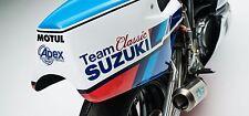 SUZUKI XR69 - 30x14 pollici tela stampa foto incorniciata squadra Classic SUZUKI