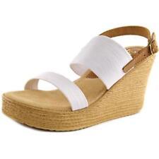 Zapatos de tacón de mujer plataformas de tacón alto (más que 7,5 cm) de lona