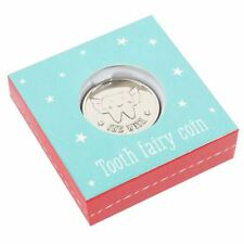 Lucky Tooth Fairy Wishing Coin keepsake Gift in box