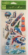 "Sticko ""Snowboarding"" Stickers"