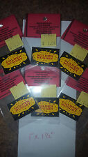 6 REPLACMENT MILLS GOLDEN NUGGET STICKERS FOR BARS FOR AN ANTIQUE SLOT MACHINE