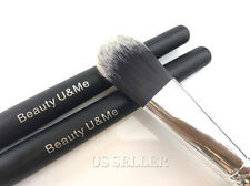 New Pro Cosmetic Face Liquid Foundation Brush Flat Paddle Smooth Synthetic Hair
