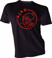 AFC Ajax Amsterdam Football Club Soccer T Shirt  Handmade Team Sports Jersey