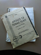 Copy of the Original NASA APOLLO 13 FLIGHT PLAN - FINAL - MARCH 16, 1970