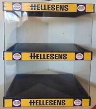 HELLESENS Batteries – Vintage shop display - adverstising- reclame