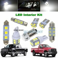 7x White LED Interior Dome Trunk Tag light package kit fit 05-06 ford Super Duty
