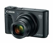 Canon PowerShot SX740 Digital Camera w/40x Optical Zoom & 3 Inch Tilt LCD - 4K V