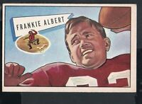 1952 Bowman Large Football Card #5 Frankie Albert-San Francisco 49ers