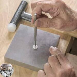 Metal Steel Bench Block Jewelers Gunsmith Metal Anvil Square Tool Jewelry Making