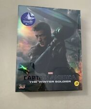 Captain America - The Winter Soldier - KimchiDVD - 3D Steelbook Full Slip