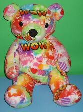 "Bee Posh Cheerful Cuddly Hope WOW Plush Teddy Bear Stuffed Toy Melissa Doug 13"""