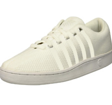 K-Swiss Men's Classic 88 Knit Sneaker | White/White | 6.5 M Us