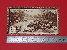 CHROMO SUCHARD 1933 FRANCE COLONIES INDOCHINE N°258 COCHINCHINE RIVIERE THU-DUC