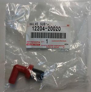 97-01 ES300 PCV Valve NEW genuine Lexus OEM 1MZFE REPLACEMENT 1220420020