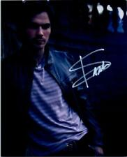 Ian Somerhalder Signed 8x10 Photo MUST SEE very nice autographed + COA